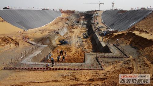 有色岩土承建的亚洲最大槽型仓基坑支护项目顺利交付甲方