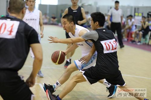 我院篮球队荣获集团公司西安片区篮球赛亚军