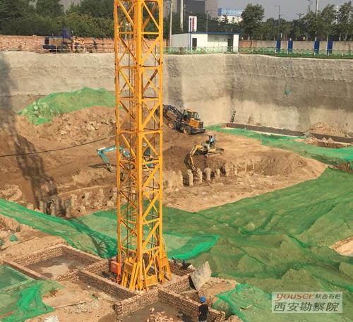 静压桩公司承建的中国移动西北大区物流中心生产调度用房项目顺利完工