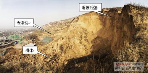 公司技术专家赴长安郭村滑坡实地考察